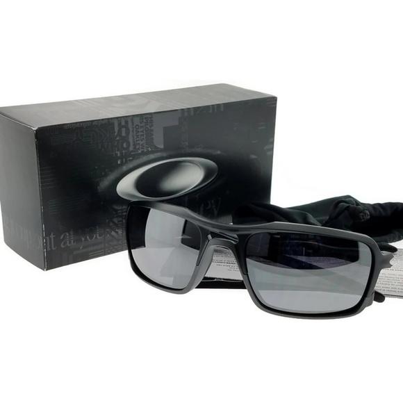 589e07abd8 OO9266-01 Triggerman Men s Black Sunglasses